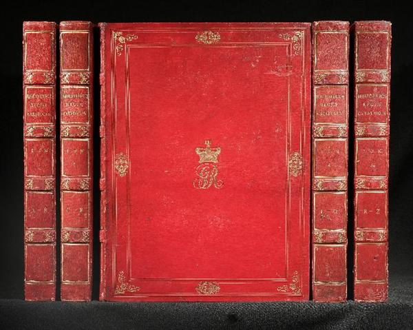 Bibliothecae Regiae Catalogus. [Compiled by Frederick Augusta Barnard]. GEORGE III