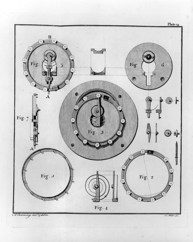 The Elements of Clock and Watch-Work, Adapted to Practice. In Two Essays. Alexander CUMMING