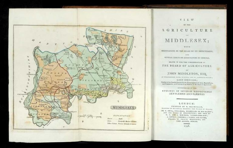 View of the Agriculture of Middlesex: with Observations on the Means of its Improvement, and...