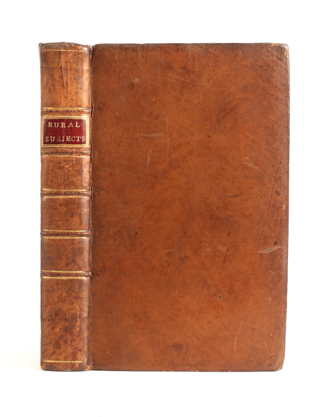 Miscellaneous Dissertations on Rural Subjects. Francis FORBES.