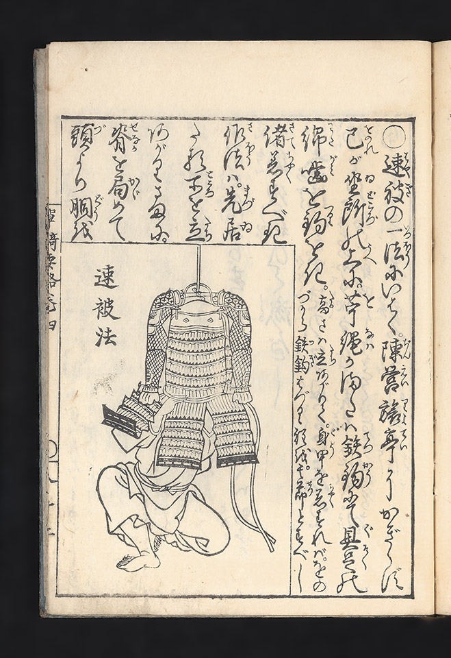 Tanki yoryaku hikoben [trans.: Illustrated Instructions for the Correct Wearing of Armor]. Masahiro MURAI.