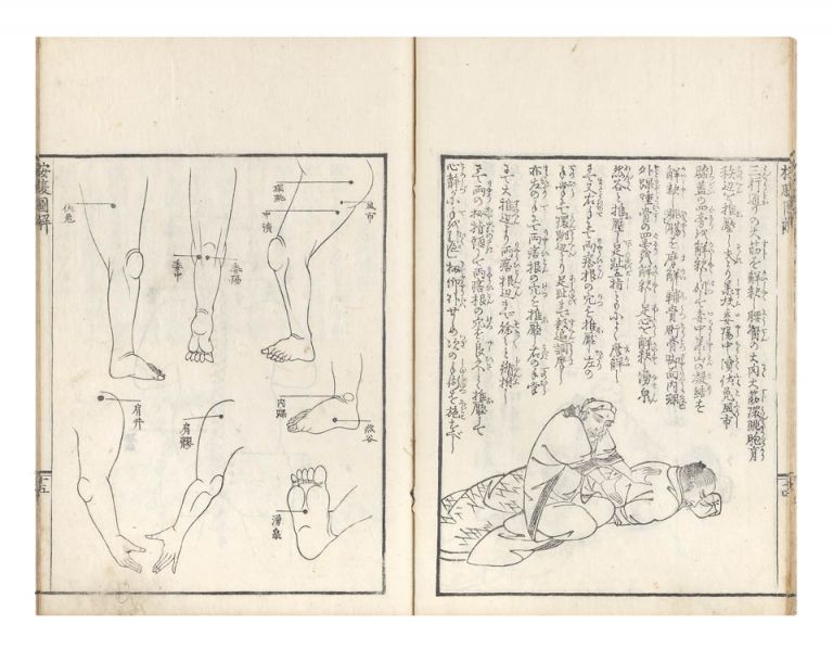 Anpuku zukai [trans.: Illustrated Account of Massage]. Shinsai OTA
