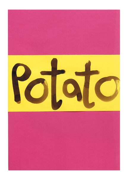 Potatoes, A Book by…. Jeremy LEE, Simon POPPER.