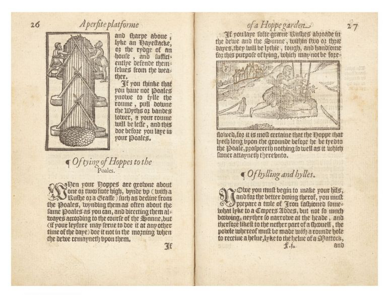 A Perfite platforme of a Hoppe Garden, and necessarie Instructions for the making and...