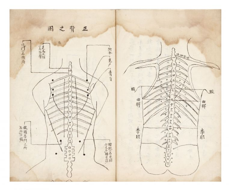 "Manuscript on paper, entitled on label of upper cover, repeated on first leaf: ""Kagawa kyuten..."