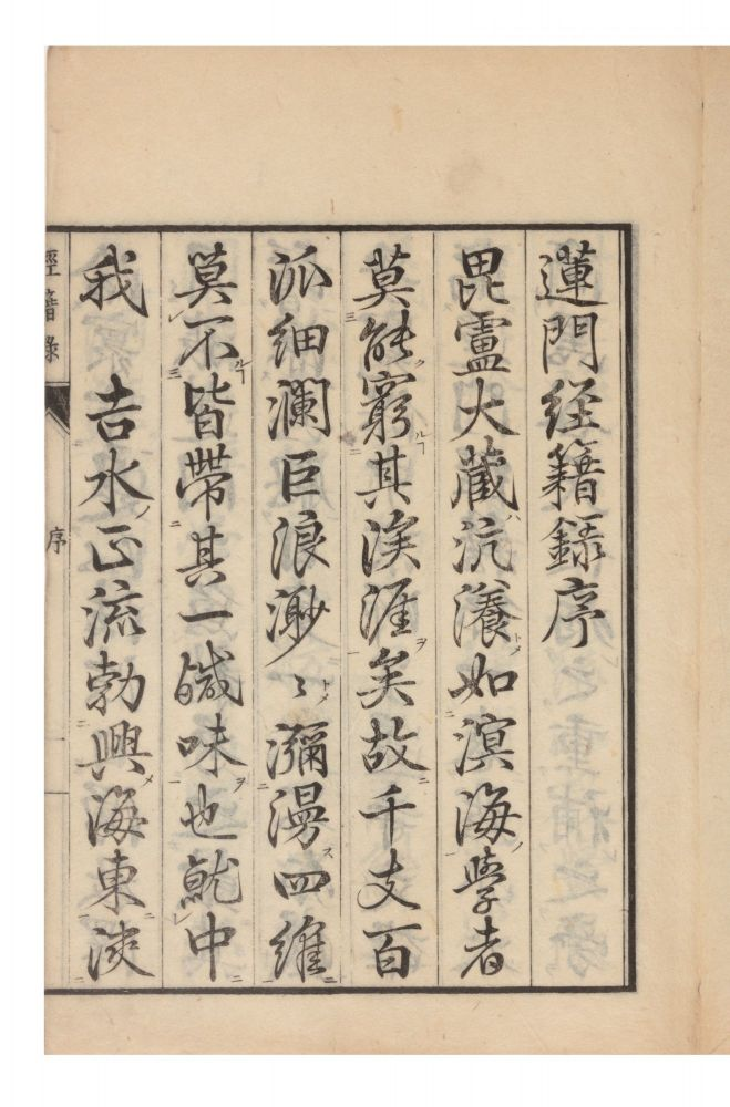 Renmon ruijukyo shakuroku [or] Renmon ruiju kyojakuroku [Comprehensive List of Books & Sutra in...