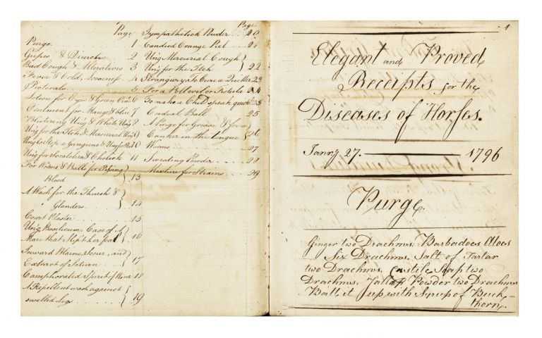 "Manuscript on paper, written in three contemporary legible hands, entitled on first leaf ""The..."