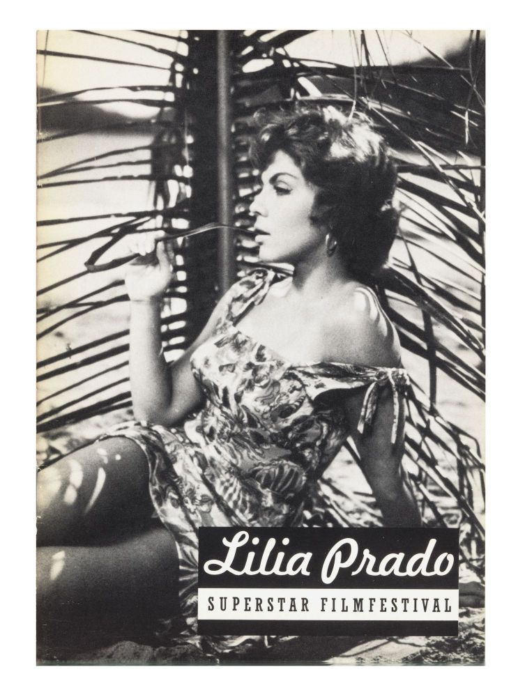 From upper cover]: Lilia Prado, Superstar FilmFestival. Ulises CARRION