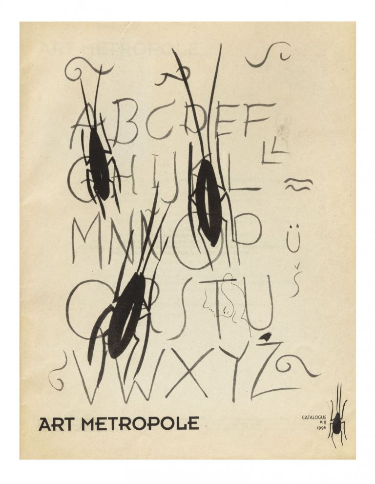 Catalogue #18. bookseller ART METROPOLE