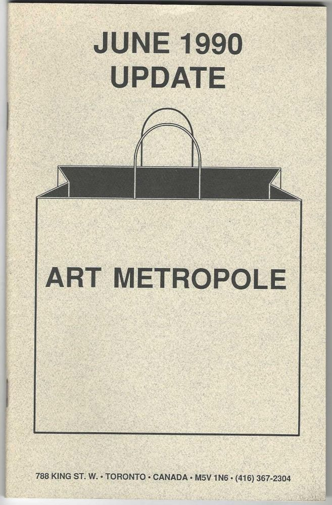 From upper wrapper]: June 1990 Update. bookseller ART METROPOLE