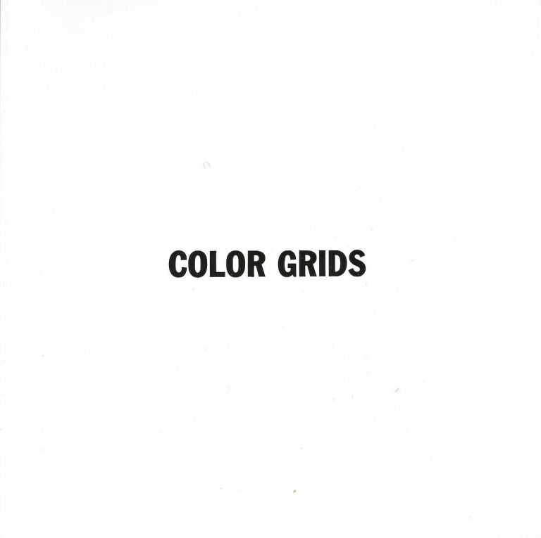 Color Grids: All Vertical and Horizontal Combinations of Black, Yellow, Red and Blue Straight,...