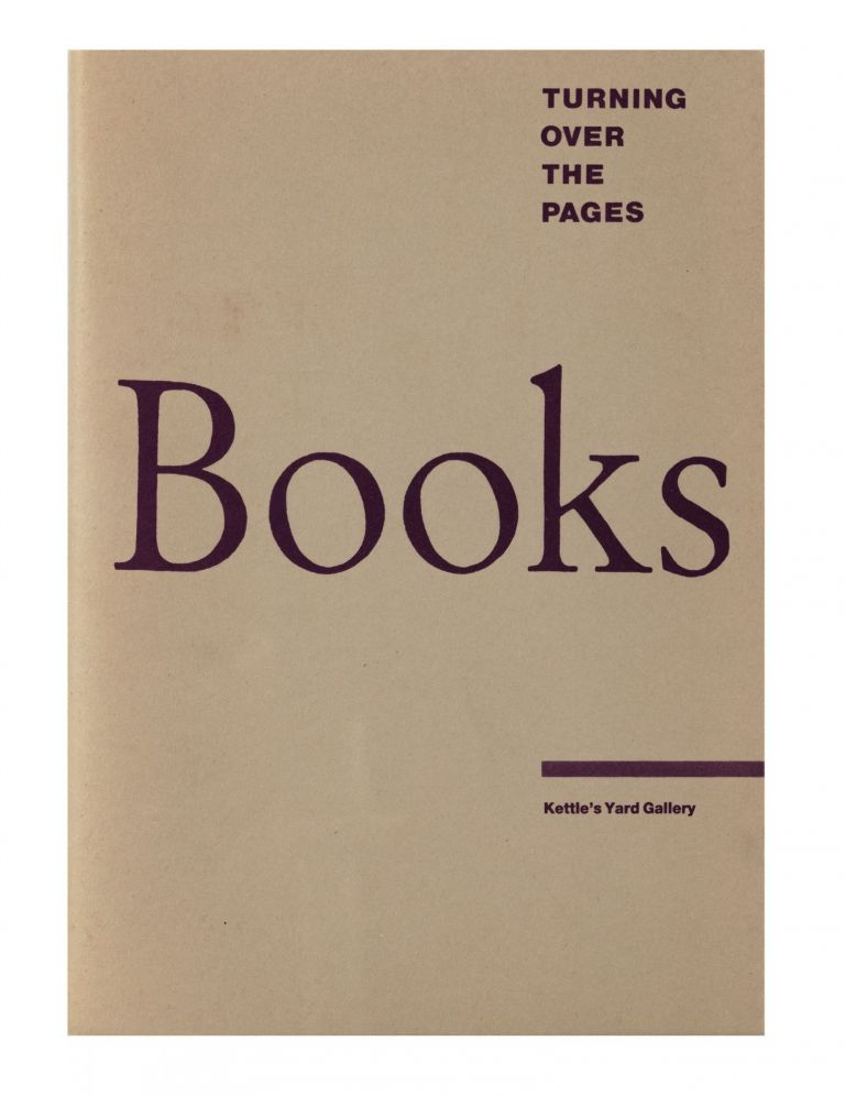 Turning Over the Pages: Some Books in Contemporary Art. Pavel BUCHLER, curator.