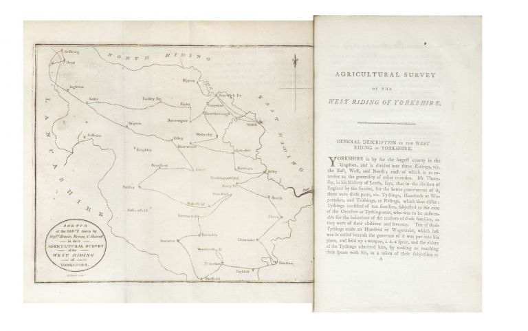General View of the Agriculture of the West Riding of Yorkshire. Surveyed by Messrs Rennie,...