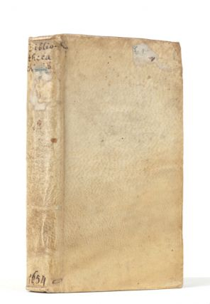 Bibliotheca Chimica. Seu Catalogus Librorum Philosophicorum Hermeticorum...Authorum Chimicorum,...