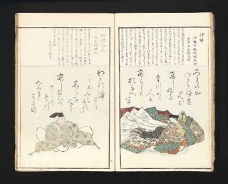 Kasen e sho [trans.: Pictures of Some of the Immortal Poets].