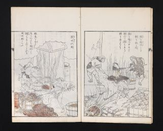 Kodo zuroku [trans.: Illustrated Book on the Smelting of Copper].