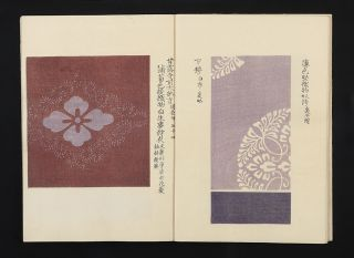 Shozoku shokumon zue [Courtly Textile Patterns].