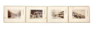 A concertina album of 32 original albumen photographs (each 100 x 140 mm.) of the famous Besshi Copper mining works, each mounted on thick board.