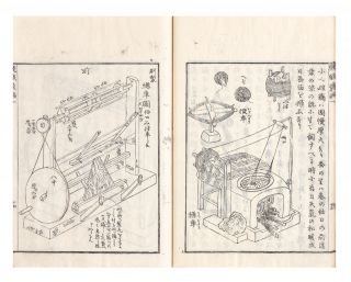 Kishoku ihen (or Hataori ihen) [trans.: Manual of Textile Technology during the Edo Period
