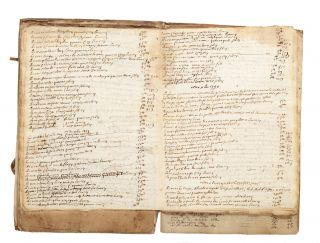 "Manuscript on paper entitled on upper cover: ""Taux des fruits du Baillage [sic] de Nuits..."