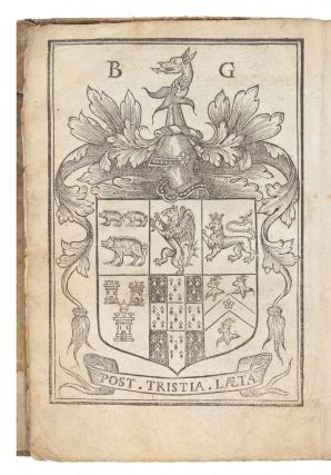Foure Bookes of Husbandry…Conteyning the whole Arte and Trade of Husbandry, with the antiquitie, and commendations thereof. Newely English, and increased, by Barnabe Googe, Esquire.