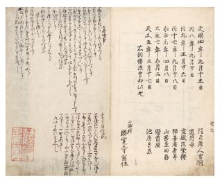 Sendensho [or] Sendenshō [Secret Methods of Flower Arrangement, passed down].