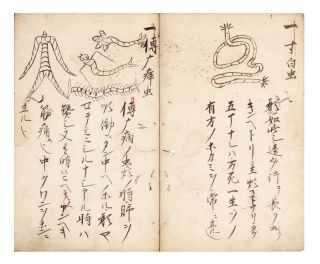 "Manuscript on paper, entitled on upper cover ""Inyo shindensho"" [""Yin and Yang..."