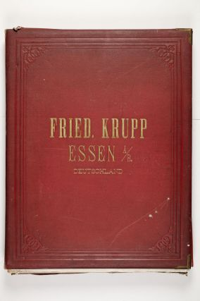 From the upper cover: Fried. Krupp Essen A[m]/R[hein]. Deutschland.