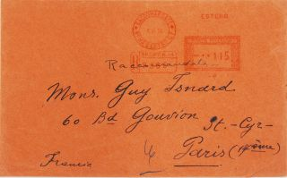 A collection including an unpublished autograph letter, with envelope, from de Chirico to Guy...