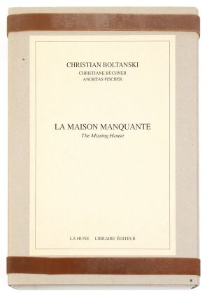From title of archival box]: La Maison Manquante, The Missing House