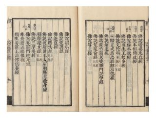 Daimin sanzo shogyo mokuroku [Catalogue of the Chinese Translation of the Buddhist Tripitaka, the Sacred Canon of the Buddhists in China & Japan].