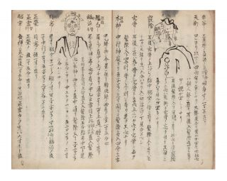 "Manuscript on paper entitled on upper cover & first leaf ""Aiketsu meiben"" [""Comprehensive Method of Determining the Pressure Points by Measurement of Bones""]."
