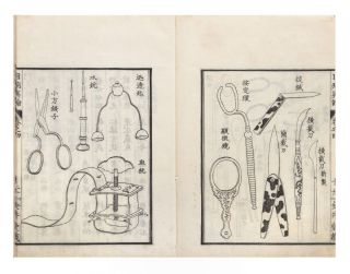 [From the title-page in Vol. I]: Ganmoku [or ganbyo] shinron; [from the title-labels & first leaf of text]: Kokon seisen mokubyo [or ganbyo] shinron [Ophthalmology in Veracity, but a better trans. is: Selected True Ophthalmology of All Times].