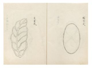 Manuscript on paper of Dattenko [Ch.: Duo tian gong; The Magnificent Human Creation which Looks as if It Were Created by Heaven], the Japanese version of Yuan Ye [Garden-making & Landscape Architecture], the most important Chinese work on landscape architecture.