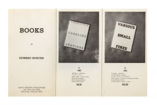 From first page]: Books by Edward Ruscha