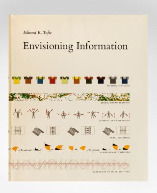 A complete set of the first editions of the five books of Edward Tufte, including The Visual Display of Quantitative Information (1983); Envisioning Information (1990); Visual Explanations: Images and Quantities, Evidence and Narrative (1997); Beautiful Evidence (2006); and Seeing with Fresh Eyes. Meaning, Space, Data, Truth (2020).