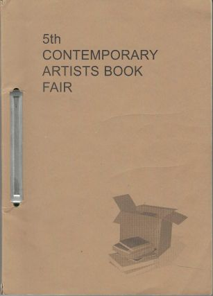 5th Contemporary Artists Book Fair